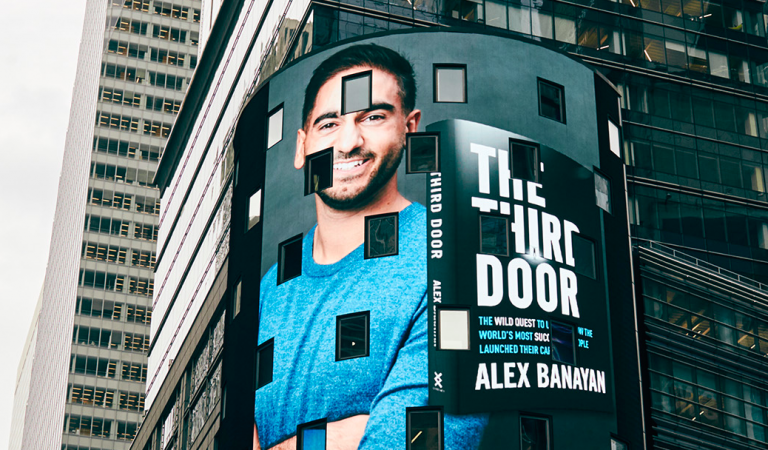 Times Square Billboard for The Third Door Launch!