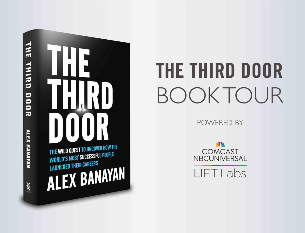 The Third Door | The Third Door Book Tour 2018: Events, Signings