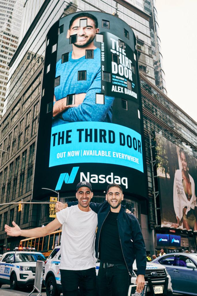 The Third Door | Times Square Billboard for The Third Door Launch!